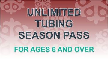 Picture of Unlimited Tubing Pass for Ages 6 and Over