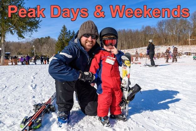Picture of Peak Days: All Day (5yrs & Under)