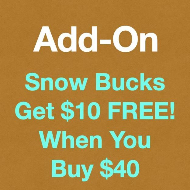 Picture of Club Snow Bucks: $50 for $40