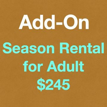 Picture of Season Rentals for Adult