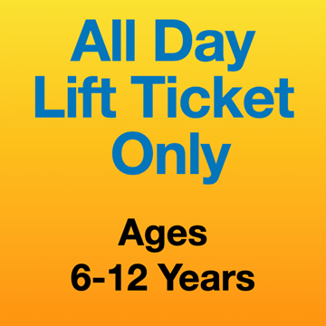 Picture of All Day Lift Ticket Only (6-12 Yrs)