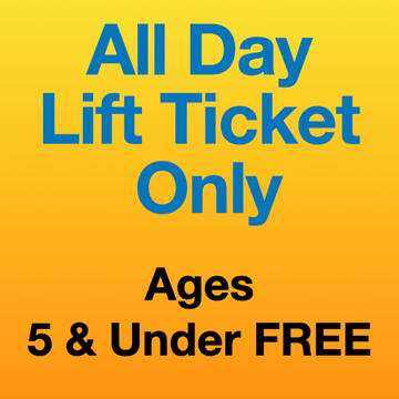 Picture of All Day Lift Ticket Only (5Yrs-)