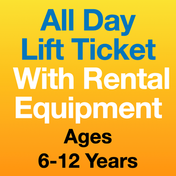 Picture of ALL DAY LIFT TICKET & EQPT (6-12yrs)