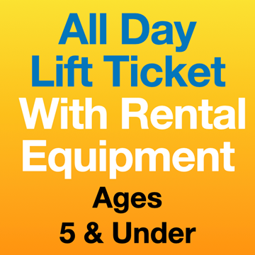 Picture of ALL DAY LIFT TICKET & EQPT (5yrs-)
