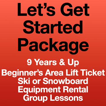 Picture of Let's Get Started Package (9Yrs+)